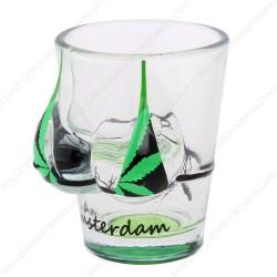 Bikini Cannabis Amsterdam Shotglas - Shooter