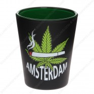 Amsterdam Cannabis Shotglass - Shooter