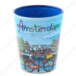 Amsterdam Canal Bright Shotglass - Shooter
