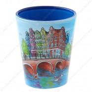 Amsterdam Gracht Bright Shotglas