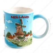 Holland 3D Zuiderzee Mug 10 cm