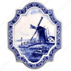 Applique Windmill - Vertical 18 x 23 cm