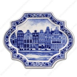 Applique Canal Houses - Horizontal 23 x 18 cm