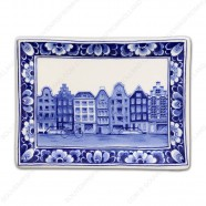 Applique Canal Houses Amsterdam - 15 x 12 cm