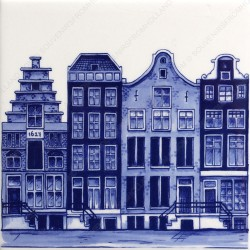 Amsterdam Canals 1 - Tile 13x13cm