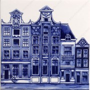 Amsterdam Canals 3 - Tile...