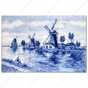 Landscape Windmill 2 - set...