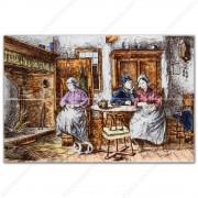 Boeren Familie - Polychroom...