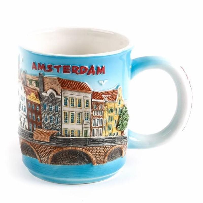 Amsterdam 3D Zuiderzee Mug 10 cm