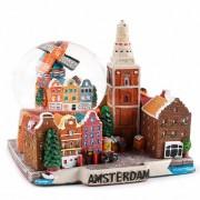 Amsterdam - Snow Globe 11cm