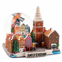 Amsterdam - Sneeuwbol 11cm