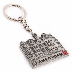 Amsterdam Canal Houses - Keychain