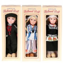 Gestreept Vrouw - Traditionele Hollandse Klederdracht
