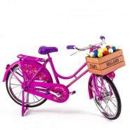 Bicycle Pink - Miniature 23 x 13 cm