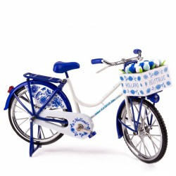 Bicycle Delft Blue - Miniature 23 x 13 cm