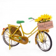 Bicycle Yellow Sunflowers -...