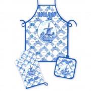 Keuken Set - Delfts Blauw...