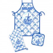 Kitchen Set - Delft Blue Tiles