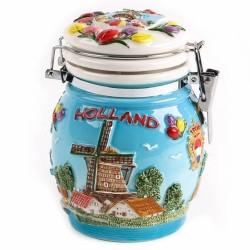 Weckpot Holland Gekleurd - 13cm