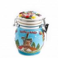 Weckpot Holland Gekleurd - 10cm