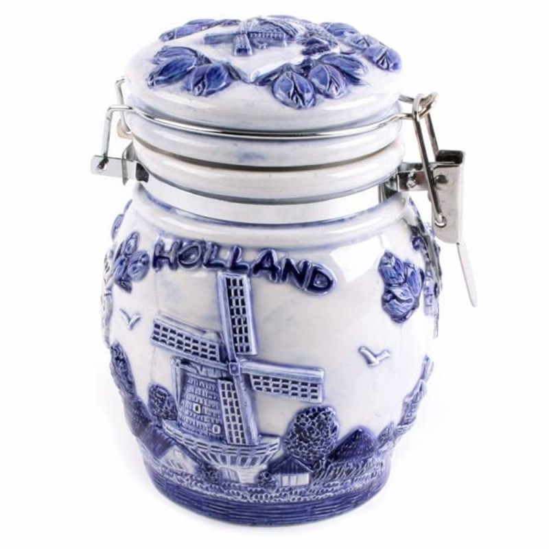 Weckpot Holland Delfts Blauw - 13cm