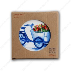 Bicycles - Coasters - set of 4