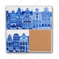 Amsterdam Canalhouses - Coasters - set of 4