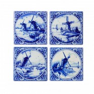 Windmills - Coasters - set of 4