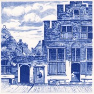Little Street by Vermeer - Tile 15x15cm
