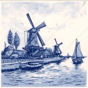 Windmill at the Waterside -...