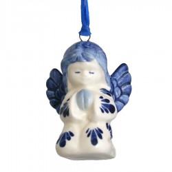 Kerst Engel - Kersthanger Delfts Blauw