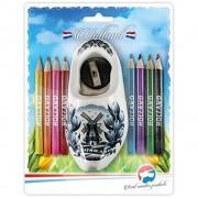 Kids and Gifts Color Pencils - Sharpener in Delft Blue Wooden Shoe