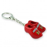 Amsterdam - Wooden Shoes - Keychain