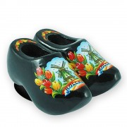 Black Tulips - Wooden Shoes...