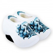 Delft Blue Tulips - Wooden...