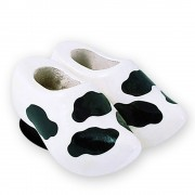 Cowhide - Wooden Shoes -...