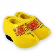 Traditional Yellow - Wooden...