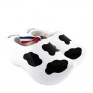Koe - Zwarte vlekken - 14 cm Klompen