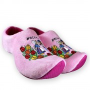 Pink Kissing couple - Clog...