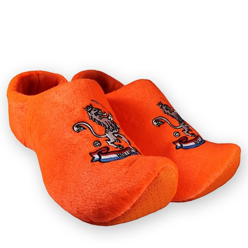 e8804023dff94 Lion Orange - Clog Slipper - Clogs - Wooden Shoes - Clogs Slippers |  Souvenirs From Holland
