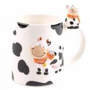 Melkbeker Koe met Mini...