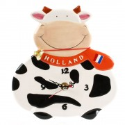 Happy Cow Wall Clock - 20cm