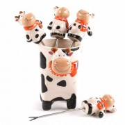 Cocktail stickes Cow - 12cm