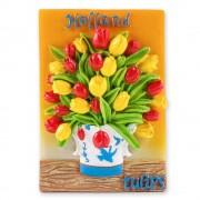Tulpen in Delfts Blauwe...
