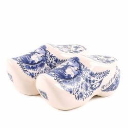 Clogs Delft Blue - Salt and Pepper set
