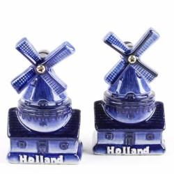 Windmill Salt and Pepper set - Delft Blue
