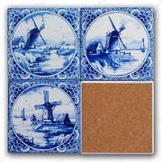 Windmills - Coasters - set...