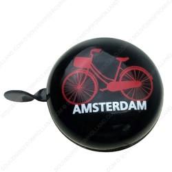 Fietsbel Amsterdam rode Fiets 8cm