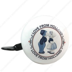 Bicycle Bell Holland Kissing Couple 6cm