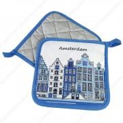 Pannenlappen - Delfts Blauw...